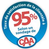 Entreprise recommandée par CAA-Québec